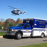 Norfolk Lions Club Ambulance