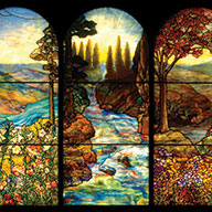 Tiffany Windows, Battell Chapel